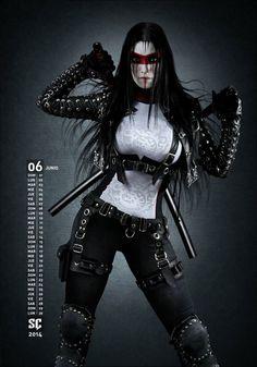 sekigan:  Francois Paradis さんの ART Fashion Punk, Cyberpunk, Mohawk, apocalyptic…