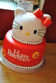 Hello Kitty Cake      Facebook: https://www.facebook.com/media/set/?set=a.280121045395051.65988.192448737495616=3#!/pages/JGM-Delights/192448737495616