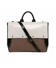 Chicnova Color Block Leather Handbag