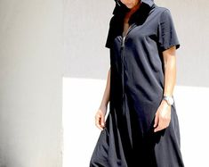 Hooded Harem Jumpsuit, Loose Fit Maternity Pockets Onesie Pajamas, Zipped Oversize Adult Romper, Cotton Womens Onesie, Floor Length Overall Urban Fashion, Womens Fashion, Fashion Trends, Unique Fashion, Fashion Ideas, Custom Made Clothing, Designer Jumpsuits, Cotton Jumpsuit, Summer Romper