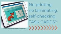 Learn about French Digital Task Cards: self-grading, no-prep resources you can find on Boom Learning™, where you can create or buy Boom Cards™ in French! Inquiry Based Learning, Interactive Learning, French Lessons, Spanish Lessons, Teaching French, Teaching Spanish, French Classroom, Flipped Classroom, French Resources