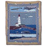 Found it at Wayfair - Lighthouse By Bay Cotton Throw Quilt