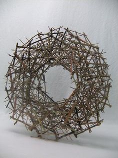 Tutorial for making stacked Twig Roundabout.