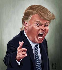 Donald Trump by Fernando Mendez