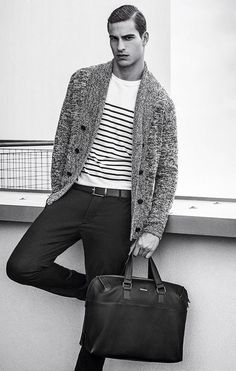 men's fashion & style - Armani Jeans Spring/Summer 2016