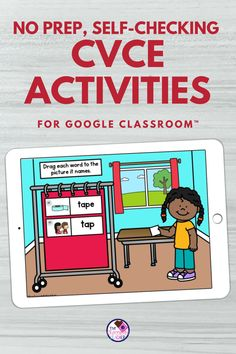 Are you looking for some CVCE digital word work? This worksheet free set of CVCE activities for Google Classroom™ is full of engaging and rigorous activities to help you to practice this spelling… More