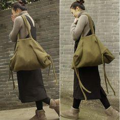 Handmade vintage cute rustic leather crossbody Shoulder Bag for women click here www.buuykud.com
