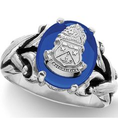 Looks like a crest insignia ring straight from medieval times.  Wish I had an endless supply of money...