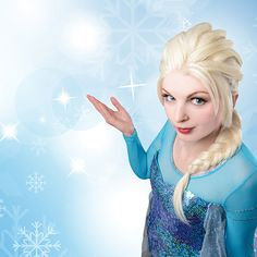 Photo at location and retouch by Penny Lane Communication. Cosplay winner Elsa - Frost.