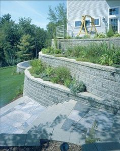 Retaining Walls And Telephone On Pinterest