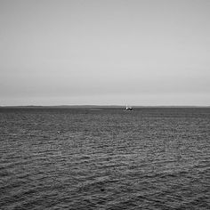 """""""A lone boat out on the water.  #exploring #Maine #myMaine #wandering #exploreusa #exploreMaine #exploreAmerica #summer #August #bnw #blackandwhite #daylight #boat #water #ocean #atlanticocean #minimal #minimalzine #minimalistic #minimalism_world #minimalismo #minimalista #minimal_shots #minimalism"""" Photo taken by @ndoocy on Instagram, pinned via the InstaPin iOS App! http://www.instapinapp.com (09/04/2015)"""