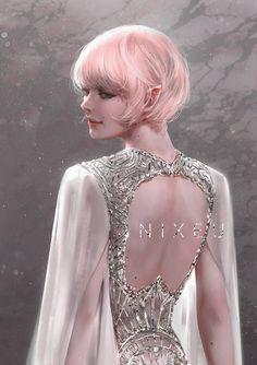Fantasy Art Women, Beautiful Fantasy Art, Beautiful Anime Girl, Dark Fantasy Art, Fantasy Girl, Fantasy Artwork, Fantasy Character Design, Character Inspiration, Character Art