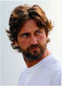 Gerard Butler, I want to run my fingers through that hair!