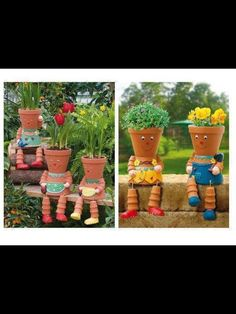 Flower pot people!