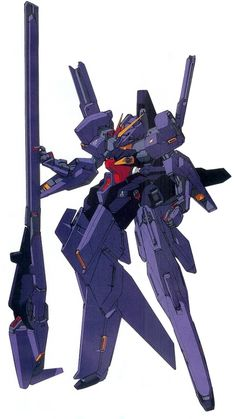 RX-124 Gundam TR-6 [Woundwort] is the last TR series produced by the Titans Test Team. The unit appears in Advance of Zeta: The Flag of Titans Manga.