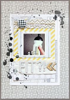 layout for ILS featuring SODAlicious #scrapbooking #ils #sodalicious
