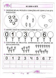 Pin Em Atividades Matematica Educacao Infantil