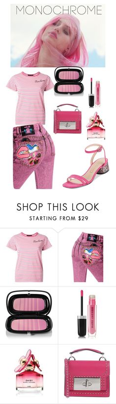 """""""Head to Toe Pink - Marc Jacobs"""" by shistyle ❤ liked on Polyvore featuring Marc Jacobs, Wildfox and monochromepink"""
