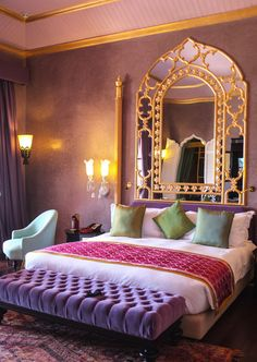 35 Latest Moroccan Bedroom Design Ideas With Modern Patterns To Have - The bedroom is your private space in the house and it is the place to relax. Unfortunately, most people use the bedroom to just sleep. A bedroom if pr. Morrocan Decor, Moroccan Lanterns, Moroccan Bedroom Decor, Moroccan Bedding, Moroccan Bathroom, Moroccan Furniture, Moroccan Interiors, My New Room, Marrakech