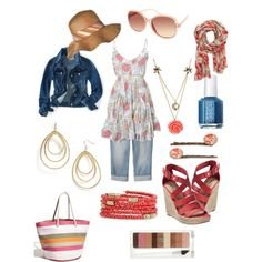 Ready for summer days, created by amyb42.polyvore.com (each item less than $50!)