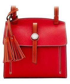 77b454d2e0 Look at this #zulilyfind! Red Leather Crossbody Bag by Dooney & Bourke  #zulilyfinds. Sac ...