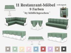 Restaurant-Möbel redesigned   akisima sims blog
