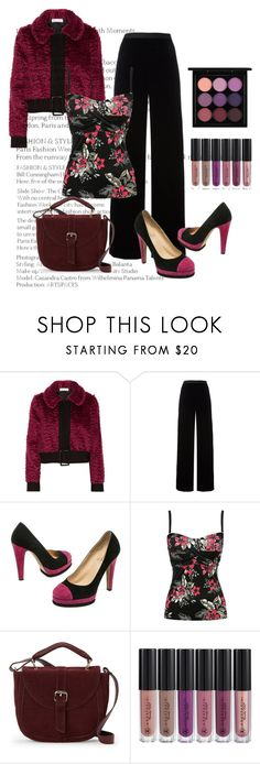 """""""Chanel suede shoes"""" by janie-xox ❤ liked on Polyvore featuring Oscar de la Renta, T By Alexander Wang, Chanel, M&Co, IMoshion, Anastasia Beverly Hills and MAC Cosmetics"""