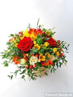 Подарочные композиции из цветов Цветочное очарование - Цветочное очарование