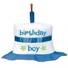 Planet Jashn Amscan 1st Birthday Cake Boy Fabric Hat