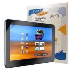 CCM® WrapShield Anti Glare Screen Protector Shield For Samsung Galaxy Tab 10.1-Inch, 16GB, Wi-Fi
