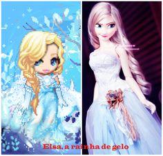 Elsa, minha primeira!