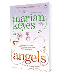 Angels by Marian Keyes   Feb 2013  Maggie Walsh's life is a mess.  She  runs for the shelter of her best friend, Emily, who lives in Los Angeles. There she will lick her wounds and decide where life will take her next.But from the moment she lands in the City of Angels, things are not quite what she expected. Overnight, she's mixing with movie stars,even pitching film scripts to studios.Most unexpectedly of all,she finds that just because her marriage is over,it doesn't mean her life is.
