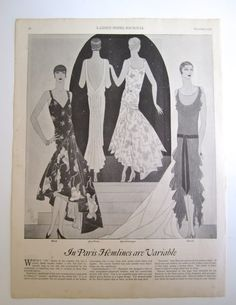 2ba08b9164 December 1928 issue of Ladies  Home Journal 20s Fashion