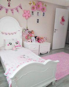 Bed For Girls Room, Little Girl Bedrooms, Girls Bedroom Sets, Girl Room, Bedroom Closet Design, Girl Bedroom Designs, Bedroom Decor, Kids Bedroom Organization, Cute Bedroom Ideas