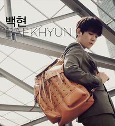 Baek Hyun - MCM F / W 2014