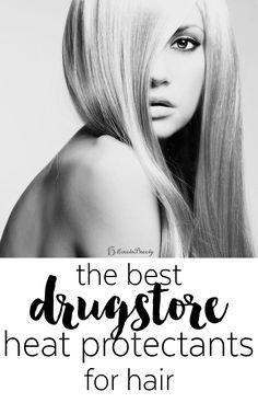 Best Drugstore Heat Protectants
