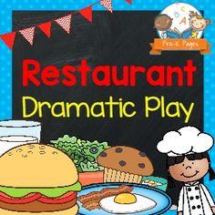 Dramatic Play Restaurant