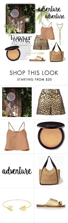 """""""Boho please"""" by laurenleigh-bee ❤ liked on Polyvore featuring Gucci, RED Valentino, TIBI, Laura Mercier, Lord & Taylor and Diane Von Furstenberg"""