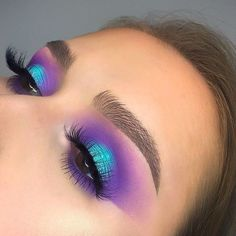 29 Colourful makeup looks the easiest way to update your look – stunning makeup ideas . 29 Colourful makeup looks the easiest way to update your look – stunning makeup ideas . Pink Eye Makeup, Makeup Eye Looks, Colorful Eye Makeup, Glam Makeup, Makeup Inspo, Eyeshadow Makeup, Makeup Art, Makeup Inspiration, Makeup Ideas
