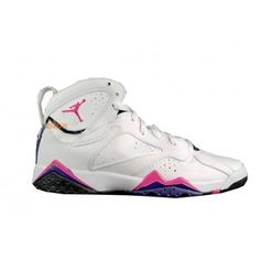 premium selection a8748 61390 Air Jordan 7 GS Fireberry 2012 White Black 442960-117 Jordan Shoes For Women ,