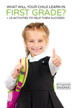 What Do Kids Learn in First Grade + 15 Activities to Help Them Succeed - B-Inspired Mama