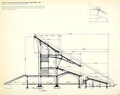 archimaps:  Nervi's design for the grand stand of a stadium, Rome