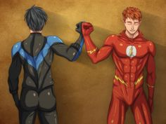 The Flash and Nightwing