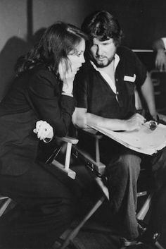 """isabelle adjani on set 
