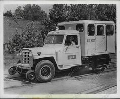 Willy's High Railer Truck. Louisville & Nashville RR.