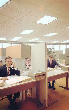 11 Amazing Vintage Herman Miller Offices / FastCoDesign | #workspaces #socialvintage