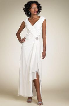 Wedding Dresses for Second Marriages Over 50 - Omari Dress in ...