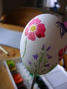 painting easter eggs is a tradition I like to keep alive