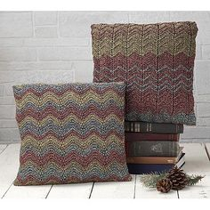 Ravelry: Mirage Pillow pattern by Rae Blackledge