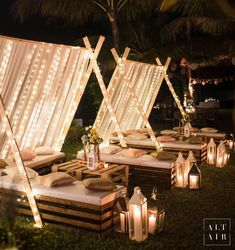 Warm & Cosy Decor Ideas for a Snuggled up Winter-Wedding Cosy Decor, Outdoor Wedding Decorations, Table Decorations, Garden Party Decorations, Festa Party, Wedding Trends, Wedding Ideas, Desi Wedding Decor, Indian Weddings